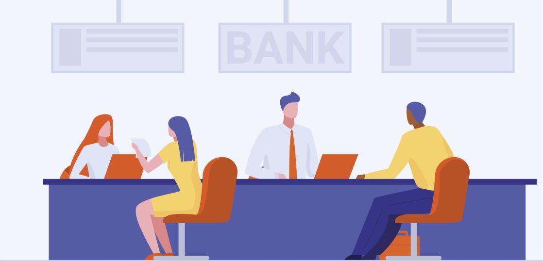bank_ reception