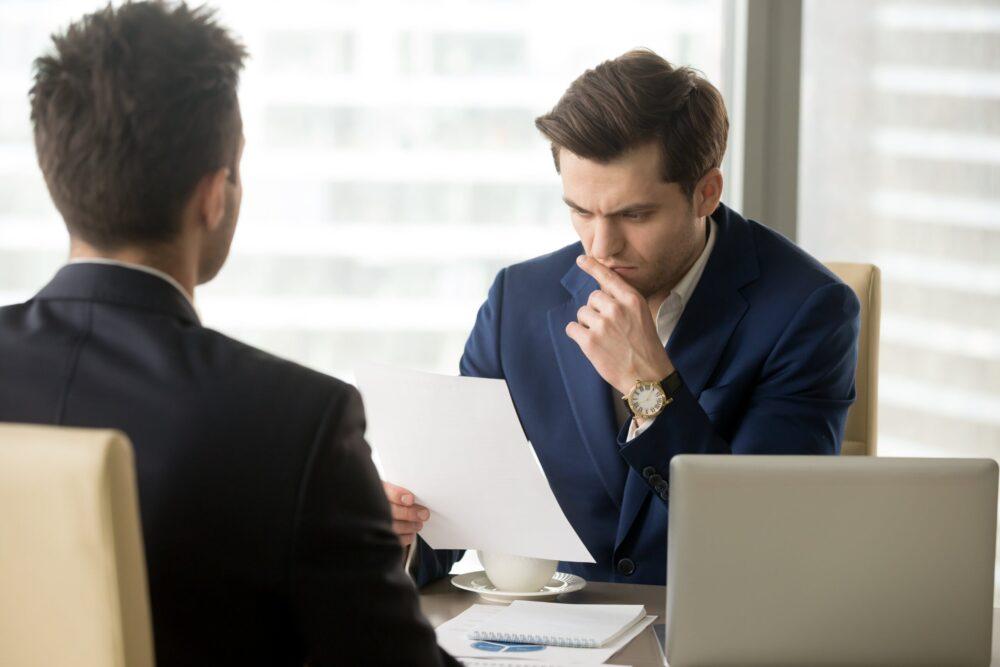 起業時の創業融資で失敗するパターン⑤【面談時の失態】